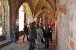 Monastery Chorin - in the eastern cloister