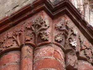 Monastery Chorin - ornaments on bricks